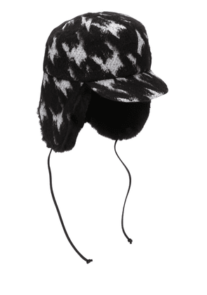 Sammy Houndstooth Trapper Hat