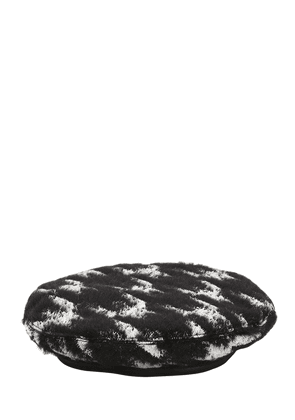 Cher Houndstooth Beret