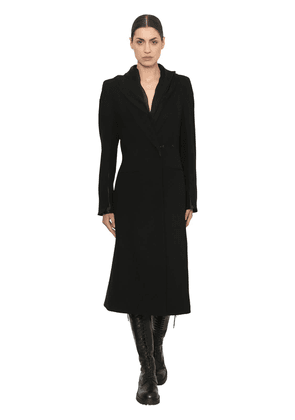 Fitted Cool Wool Coat