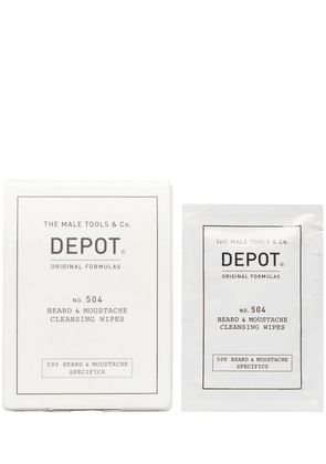 N.504 Beard & Moustache Cleansing Wipes