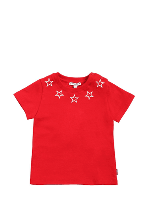 Stars Printed Cotton Jersey T-shirt