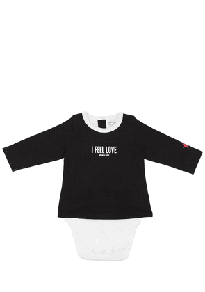 I Feel Love Cotton Jersey Bodysuit