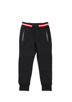 Cotton Sweatpants With Logo Details