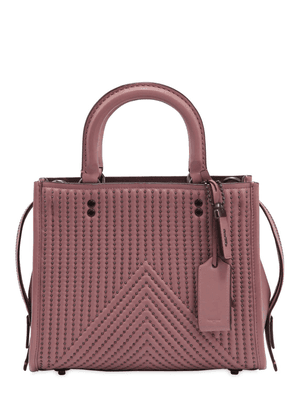 Rogue Studs Quilted Nappa Leather Bag