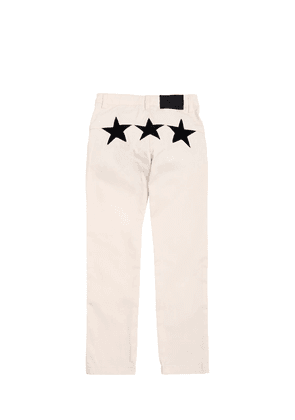 Stretch Peached Cotton Pants
