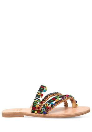 06a7bb18a711 10mm Naida Embellished Sandals. SALE. MABU BY MARIA BK