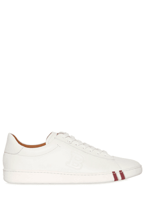 Leather Sneakers W/ Logo Detail