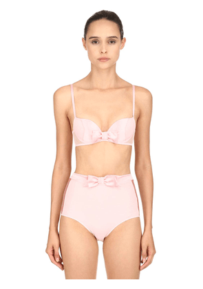 Ballerine Satin & Mesh Push-up Bra
