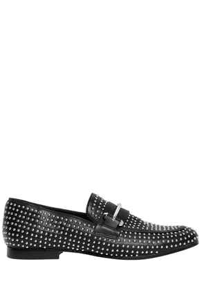 10mm Kast Studded Faux Leather Loafers