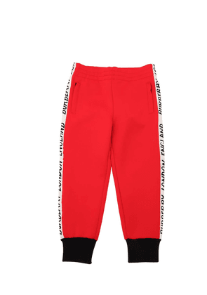 Acetate Track Pants W/ Logo Side Bands