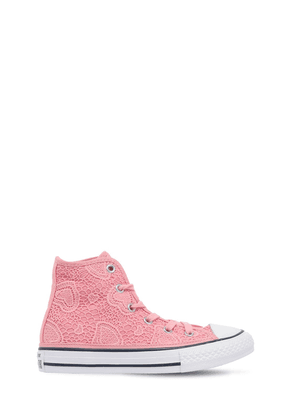 Lace & Canvas High Top Sneakers