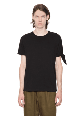 Single Knot Cotton Jersey T-shirt