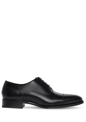 30mm Leather Oxford Shoes