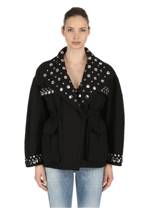 Emmetis Studded Cotton Jacket