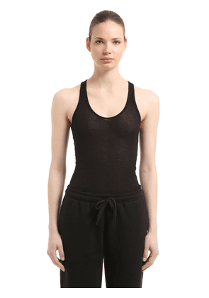 Cotton Ribbed Jersey Tank Top