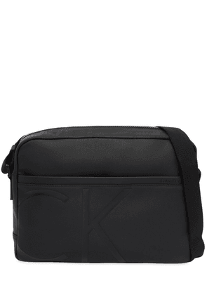 Logo Coated Fabric Messenger Bag