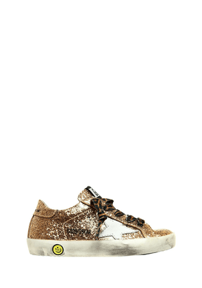 Super Star Glittered Sneakers