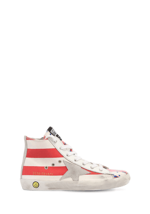 Francy Stars Canvas High Top Sneakers