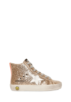 Francy Glittered High Top Sneakers