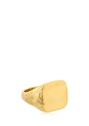 Molded Square Signet Ring