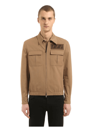 Signature Ff Light Gabardine Jacket