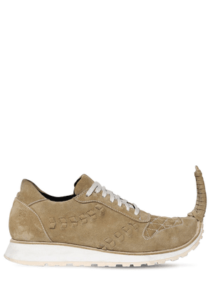20mm Pointed Suede Sneakers