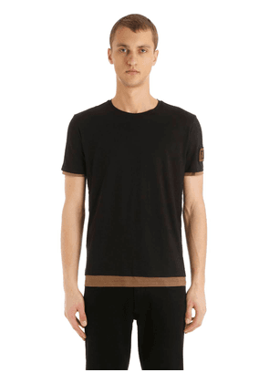 Ff Patch Double Layer Jersey T-shirt