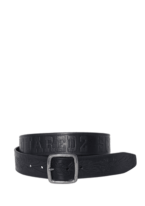 40mm Dsquared2 Scout Leather Belt