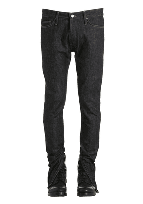 Paneled Selvedge Denim Jeans