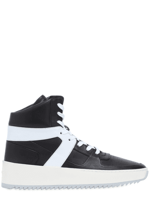 Bball Leather High Top Sneakers