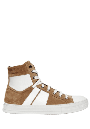 Sunset Suede High Top Sneakers