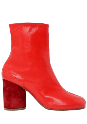 90mm Tabi Leather Ankle Boots