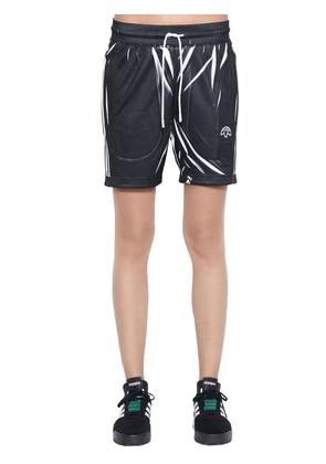 Aw Printed Track Shorts