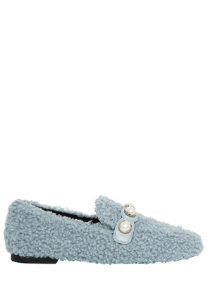 10mm Furry Faux Shearling Loafers