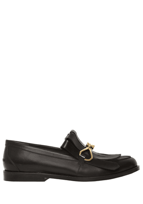 20mm Fringed Leather Loafers