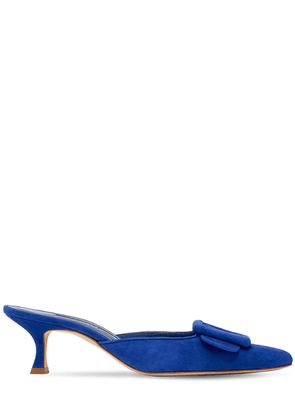 50mm Maysale Suede Mules