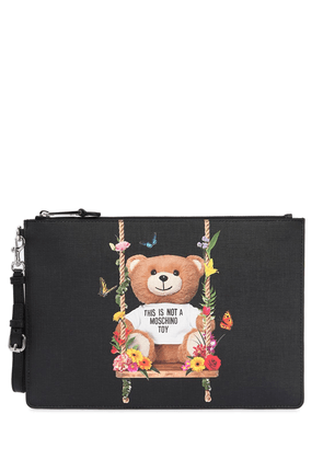Teddy Printed Pouch