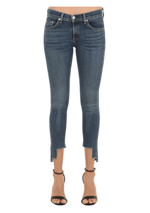 Skinny Capri Cropped Denim Jeans
