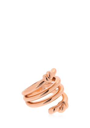 Hula Hoops Rose Gold Plated Ring