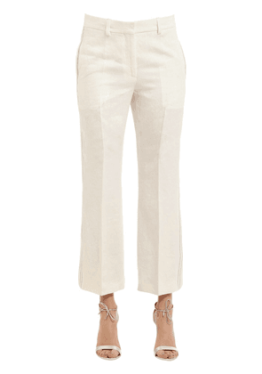 Herringbone Linen Pants