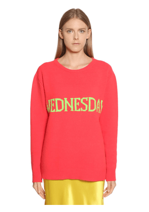 Wednesday Oversize Wool Blend Sweater