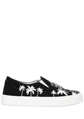 20mm Palms Cotton Slip-on Sneakers