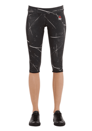 Crossfit Cropped Microfiber Leggings