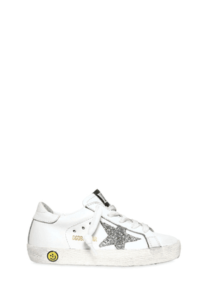 Super Star Nappa Leather Sneakers