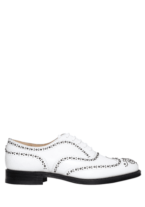 Burwood Studded Leather Lace-up Shoes
