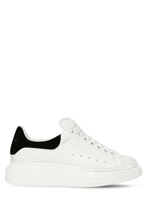 8b2e029fac46 40mm Leather   Suede Sneakers. Alexander McQueen. 40mm Leather   Suede  Sneakers