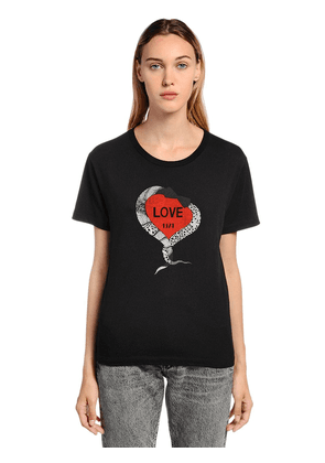 Love 1971 Printed Cotton Jersey T-shirt