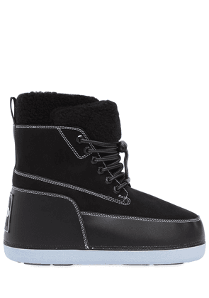Nebraska Faux Shearling Snow Boots