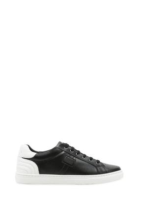 Two Tone Nappa Leather Sneakers
