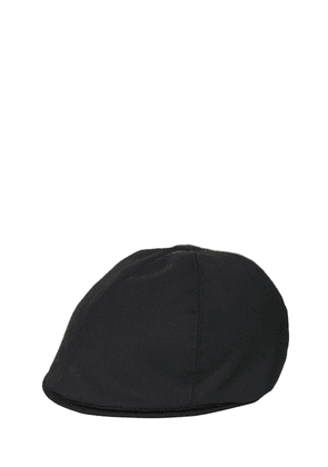 Cool Wool Flat Cap
